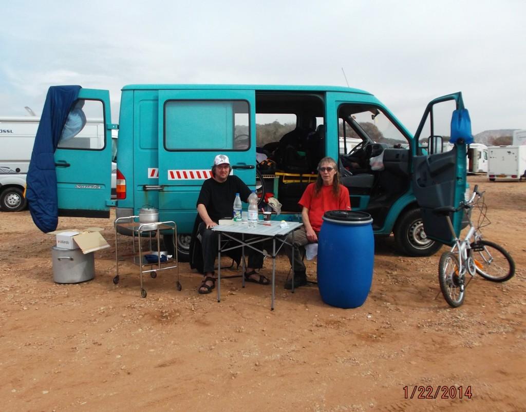 Rast bei Agadir