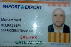 Transiteur Mohamed