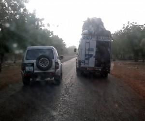 Rückfahrt nach Segou